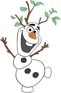 Olaf árbol olaf para imprimir