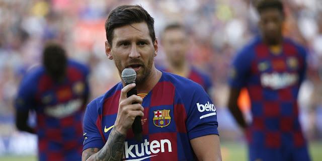 Melawat ke Athletic Bilbao, Barcelona Tak Bawa Lionel Messi