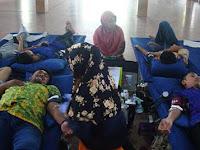 UKM KSR Universitas Muria Kudus Gelar Donor Darah