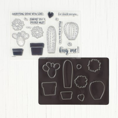 Like Cactus Plants? You'll Love This Stamp Set That Is On Sale!