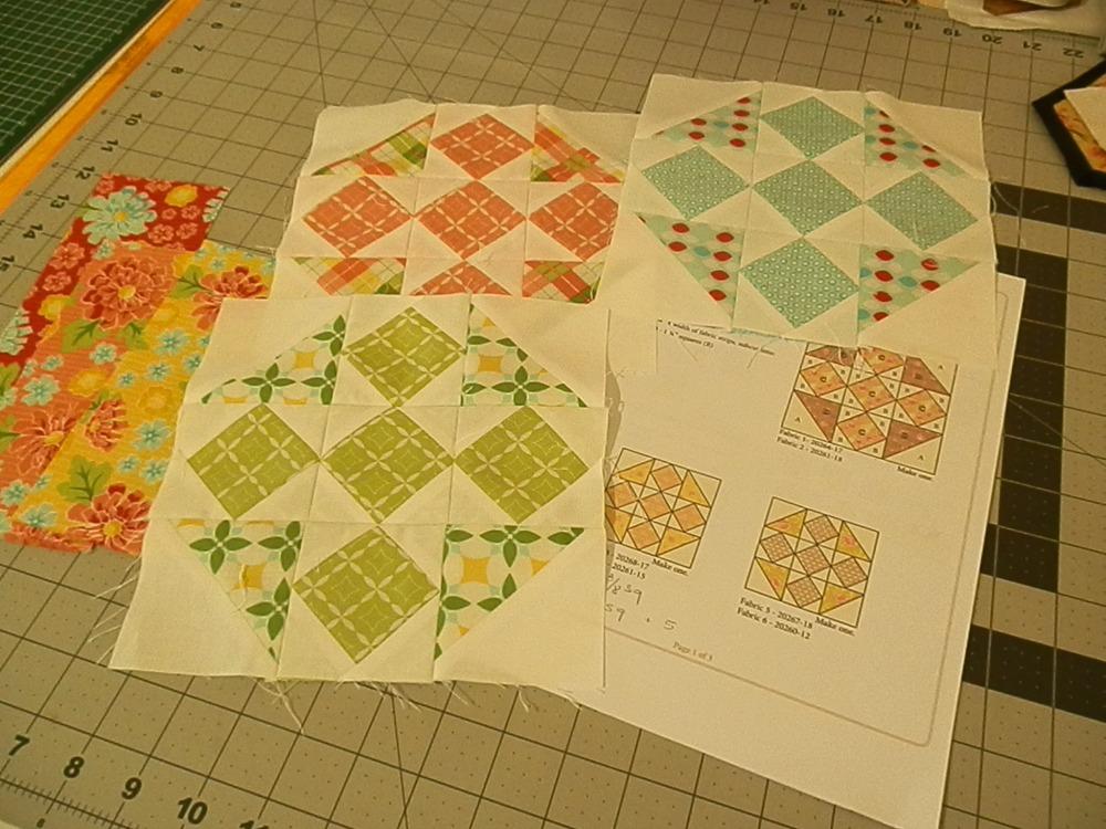 Quilt Knit Stitch 2017 : stitch quilt knit: Crossroads Blocks