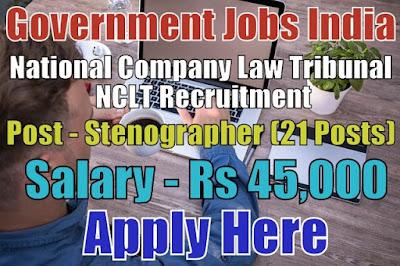National Company Law Tribunal NCLT Recruitment 2017