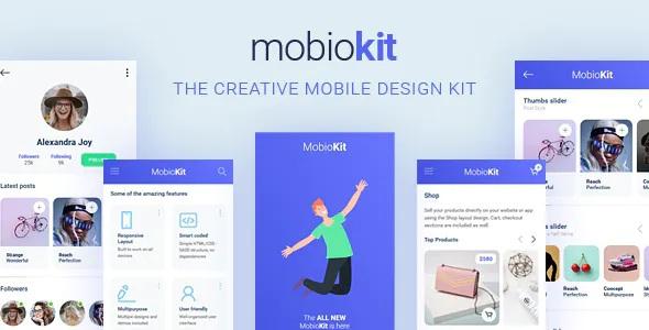 Best HTML Mobile UI Kit