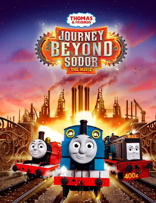 Thomas & Friends: Journey Beyond Sodor 2017 DVDR NTSC Latino