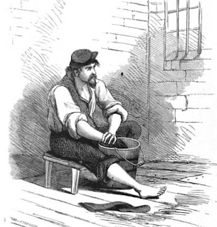 """Illustration from """"Libby Life: Experiences of a Prisoner of War in Richmond, Va. 1863-1864"""""""