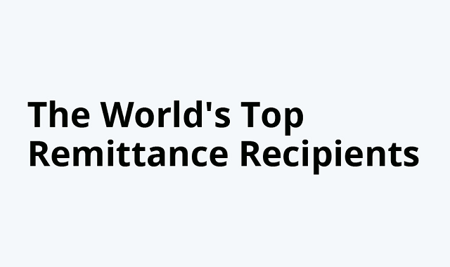 World's top remittance recipient countries