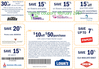 Home Depot coupons february