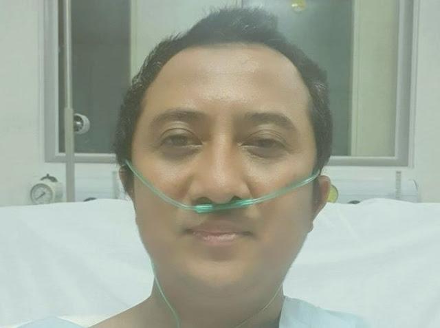 Innalillahi, Paru-Paru Yusuf Mansur Terluka Akibat Covid-19, Tak Sadar Sempat Pamit ke Istri