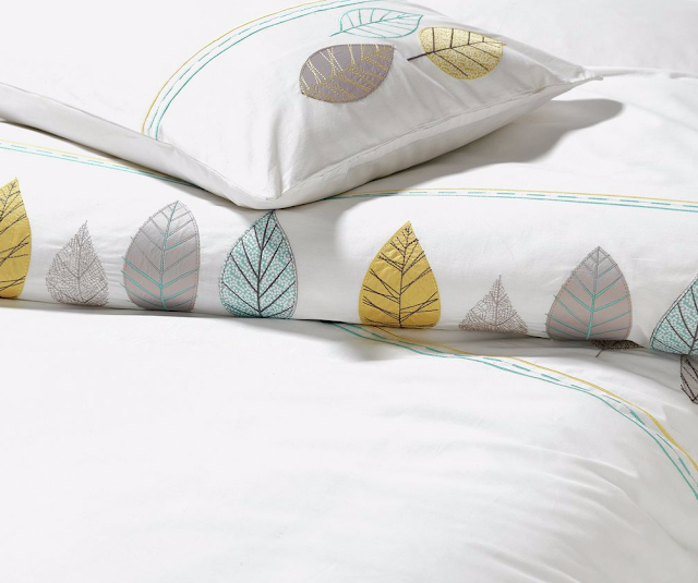Arla Embroidered Bedding Set