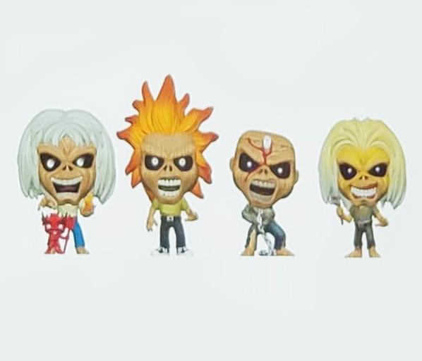 Funko anuncia bonecos inspirados no Eddie do Iron Maiden