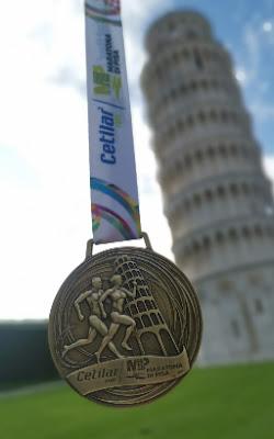 Maraton Pisa - Medalla