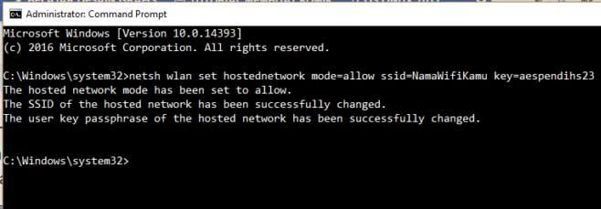 Cara Membuat Hotspot di Laptop dengan CMD