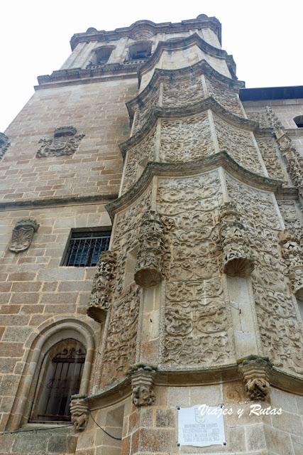 Cuerpo de la escalera de caracol, Catedral de Coria