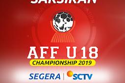 Cara menonton semifinal AFF U 18 Timnas Indonesia vs Malaysia di parabola