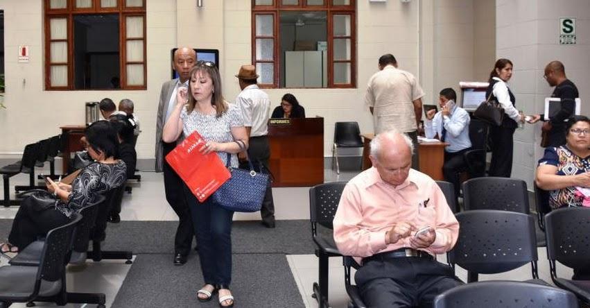 Adultos mayores tendrán trato preferencial a través de sistema de alerta en procesos judiciales