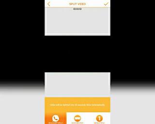 upload video lebih dari 30 detik di WhatsApp Menu