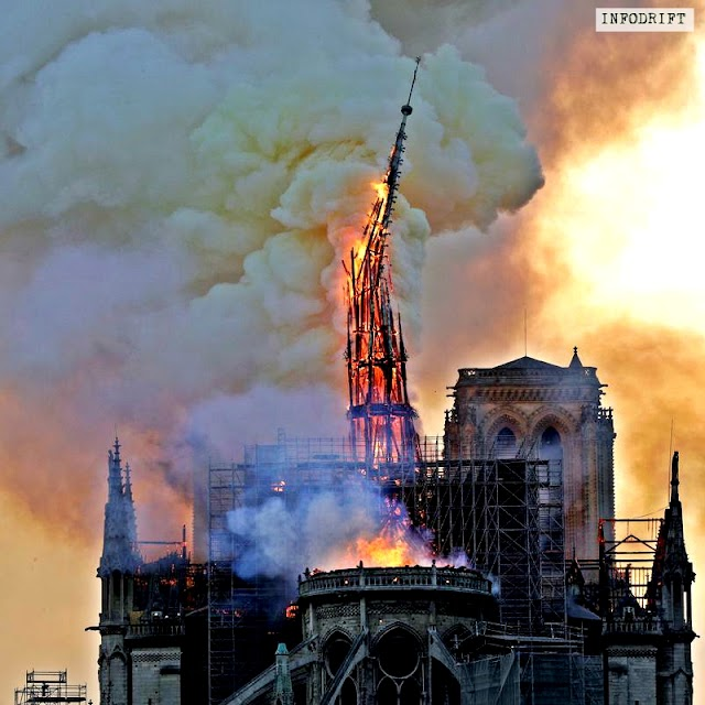 Paris news: Fire broke out in the world famous notre-dame de cathedral... [here're the latest updates]
