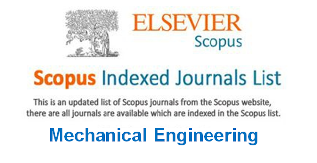 Free Scopus indexed journals in mechanical engineering
