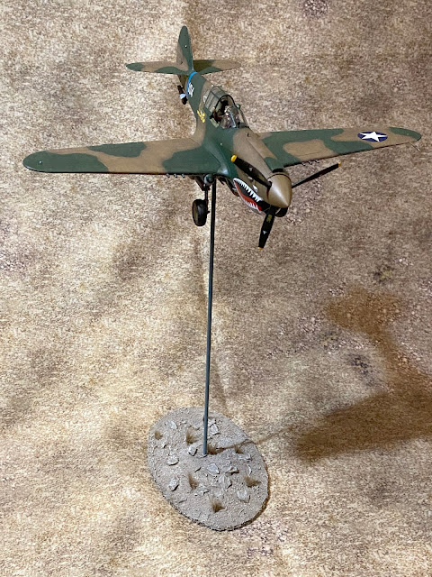 Hasegawa 1/48 P-40E Flight Stand for Bolt Action