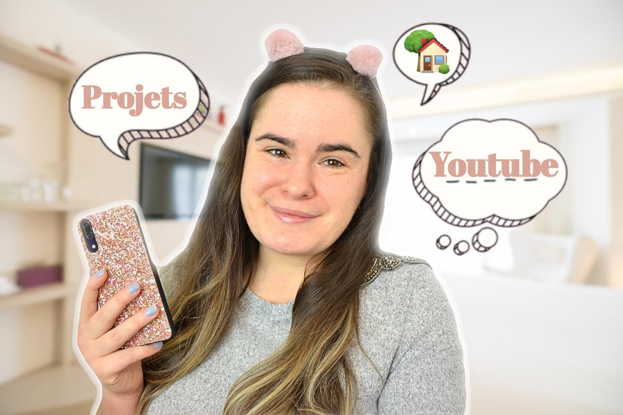 chit chat makeup 3 projets, youtube, démménagement
