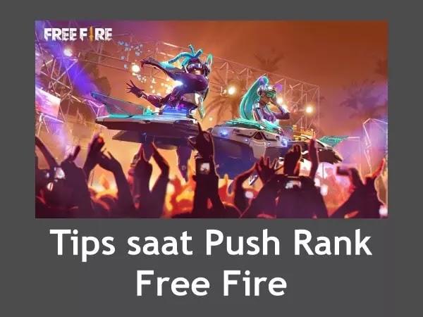 Tips Push Rank Free Fire