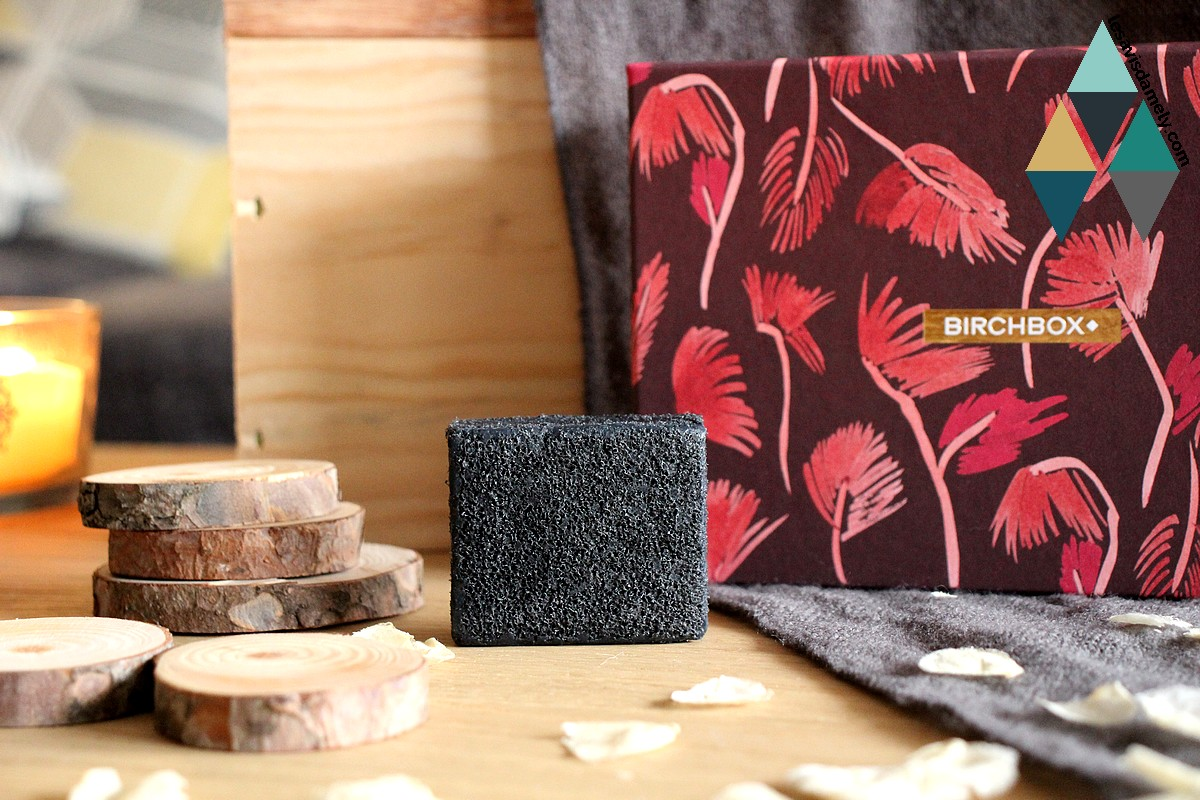 multi fonctionnal soap sponge charcoal Daily Concepts