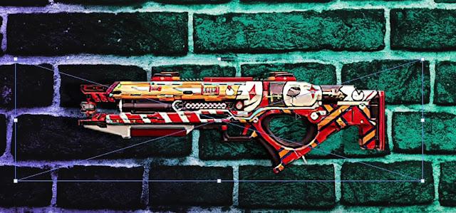 skin plasma Gun EP 36