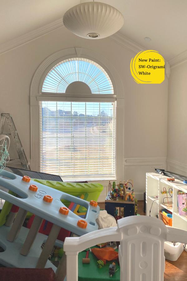 The Playroom Refresh-during process-designaddictmom