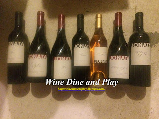 The wines and tasting of Jonata Winery in Santa Barbara, California, the sister winery to Screaming Eagle.