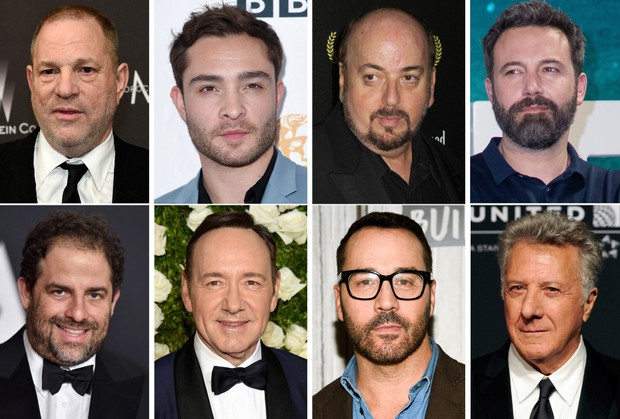 Who's been accused of sexual harassment and assault in Hollywood?