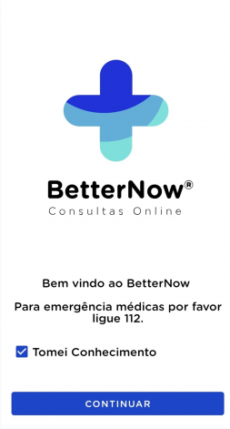 Receba conselhos médicos online por intermédio da BetterNow