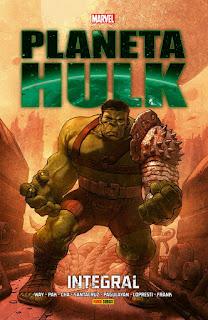 Planeta Hulk Marvel Integral