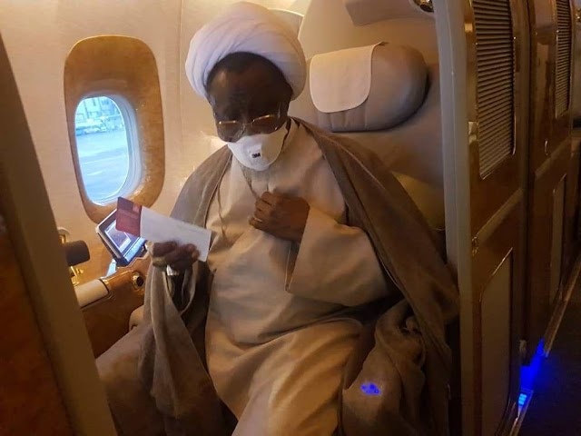 El-Zakzaky Laments Situation In Indian Hospital, Seeks Return To Nigeria
