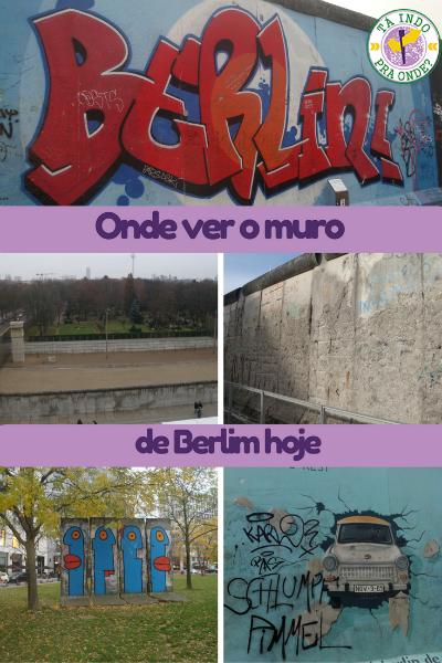 Onde ver o muro de Berlim hoje?