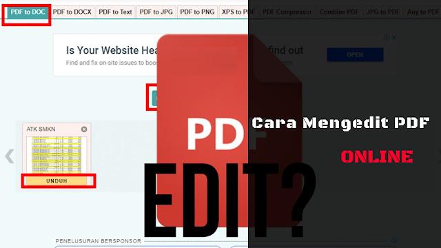 Cara Mengedit PDF Online