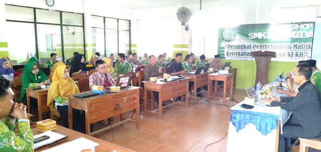 Workshop SMK Yasmida Ambarawa tahun 2019
