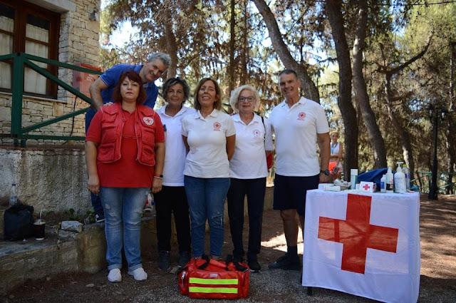 Ο Ερυθρός Σταυρός Άργους κάλυψε υγειονομικά τον «3ου Δρόμου Κάστρου Άργους»