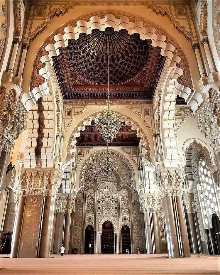Destinasi Wisata Eksotis Maroko Hassan II Masjid