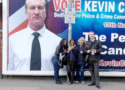 Billboard: Kevin Carroll for PCC