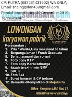 Loker Surabaya Terbaru di Magnum CUan November 2019