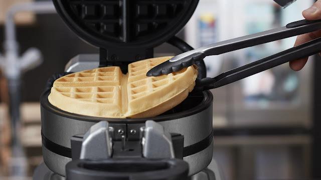 resepi dan cara masak waffle sedap dan rangup