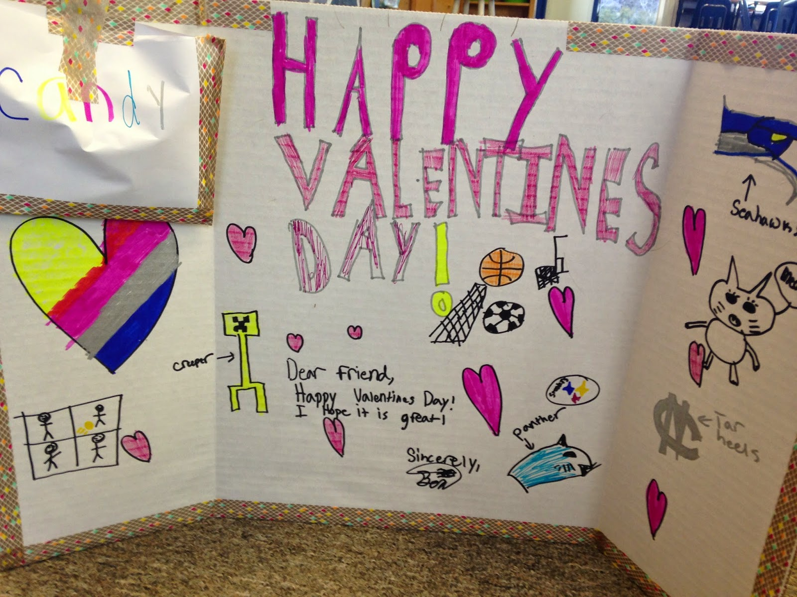 In 5th Grade With Teacher Julia Valentine S Day In 5th Grade And Some Math To Add To The Fun