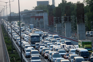 Libur Natal, Tol Jakarta Arah Cikampek Macet 30 Km