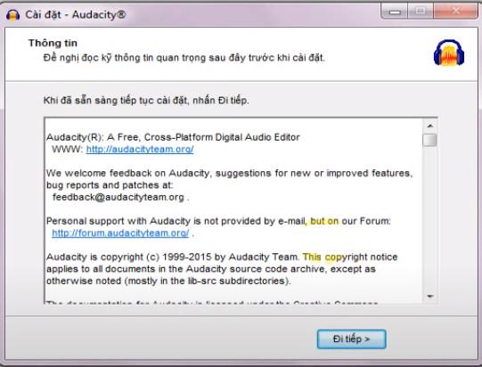 Hướng dẫn cài đặt Audacity trên máy tính windows d