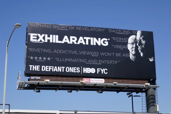 Defiant Ones 2018 Emmy FYC billboard