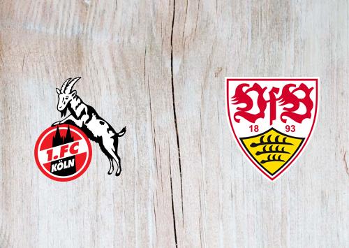 Köln vs Stuttgart -Highlights 20 February 2021