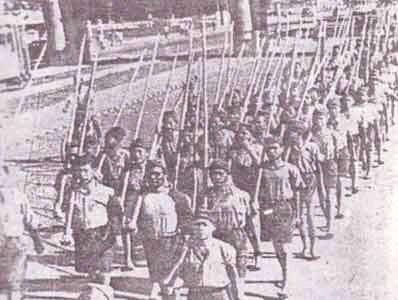 Sejarah Awal Senjata Bambu Runcing