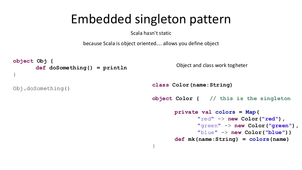 Simplest way to impelment Singleton pattern in Java