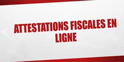 encore Nouvelles attestations fiscales en ligne