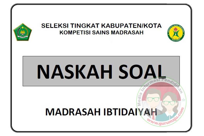Prediksi Soal Ksm Tahun 2020 Mi Madrasah Ibtidaiyah